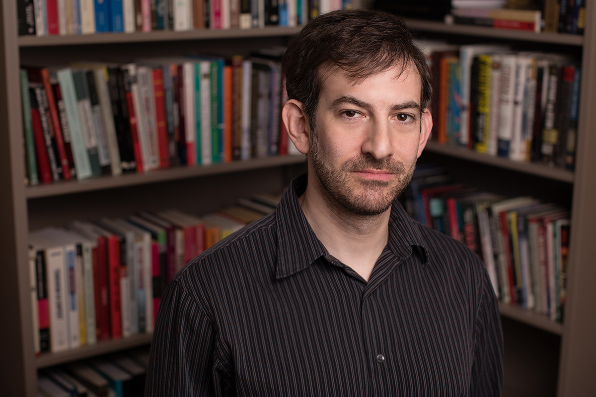 New faculty member, Dr. Nicholas Grossman