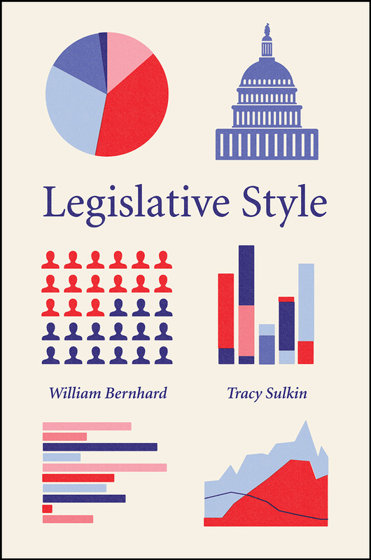 Book cover for Legislative Style written by Dr. William Bernhard and Dr. Tracy Sulkin