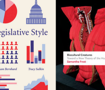 Legislative Styles by Dr. William Bernhard and Dr. Tracy Sulkin and Biocultural Creatures by Dr. Samantha Frost