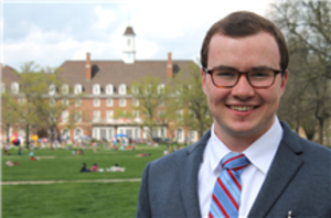 A big congratulations to senior Thomas Dowling who was selected as a Rhodes Scholar. He is one of only 32 students nationwide selected for the honor and is the first Rhodes Scholar from the University of Illinois at Urbana-Champaign since 1998.  The Rhodes Scholarship allows for postgraduate study at the University of Oxford in the United Kingdom. Thomas, a recipient of the Truman Fellowship for his dedication to public service, plans to pursue a master's of public policy while at Oxford.  Please join us in
